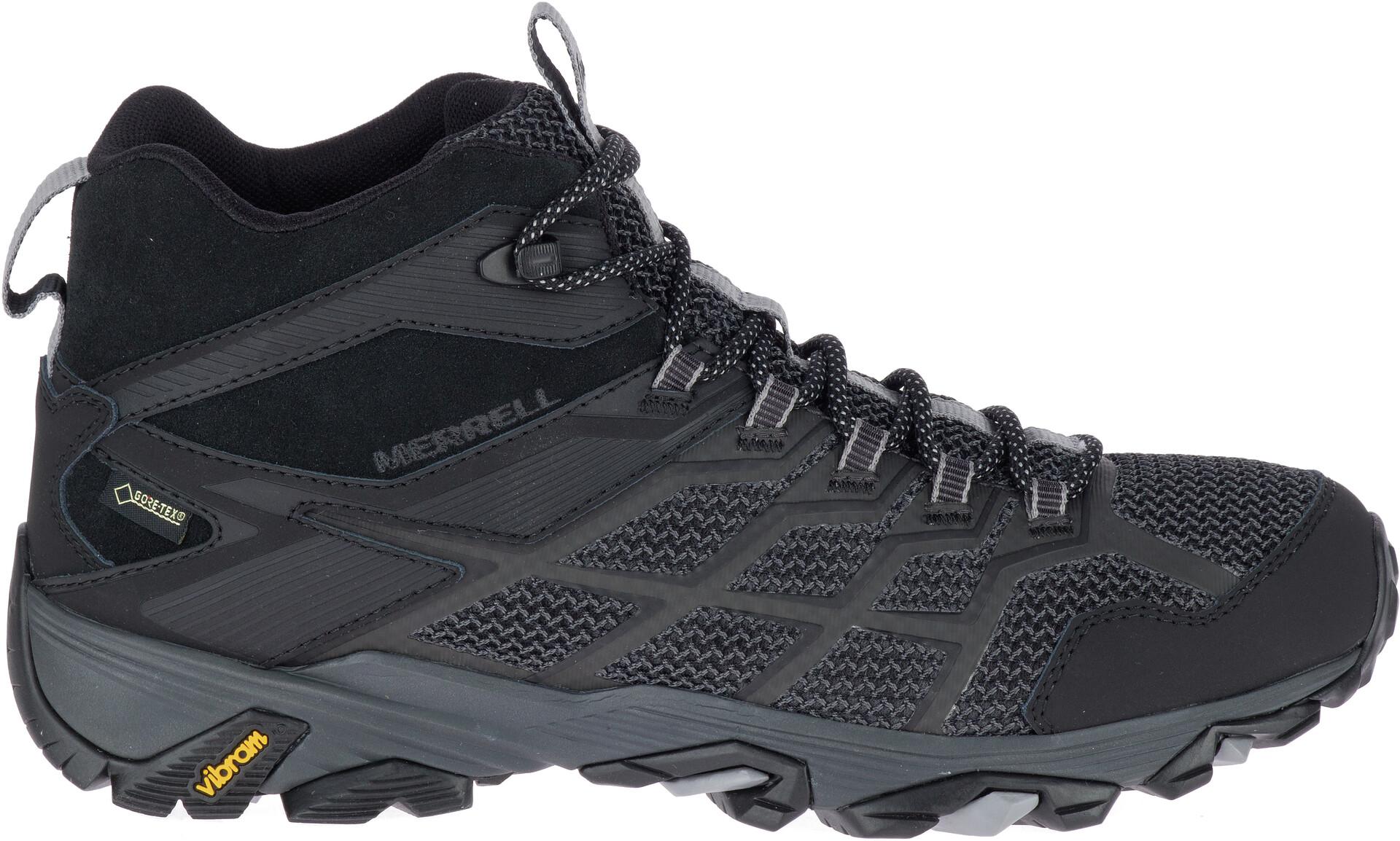 Merrell Moab FST 2 GTX Mid Cut Schuhe Herren all black